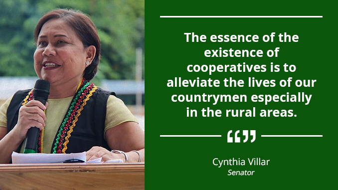 Cooperatives Are Partners in Growth and Development – VILLAR