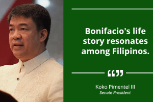 Bonifacio Became Great Because He Went Beyond His Family – PIMENTEL