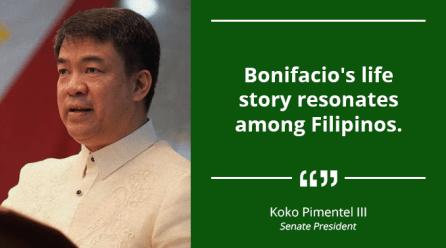 Bonifacio Became Great Because He Went Beyond His Family – PIMENTEL