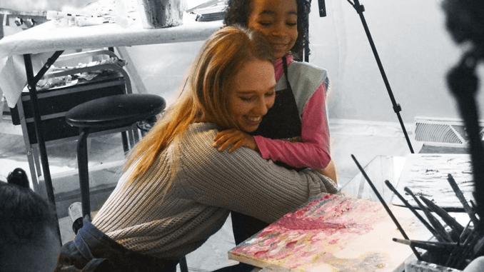 ART PRODIGY CREDITS SPIRITUALITY FOR HER GENIUS