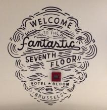 logeren bij Hotel Bloom in Brussel