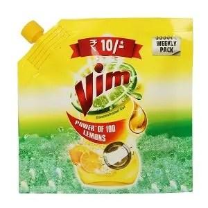 Vim liquid dishwash