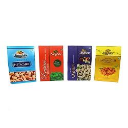 Pack of dryfruits , kaju, badam, pista ,