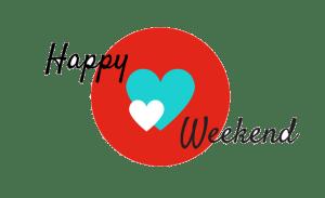 happy weekend transparant