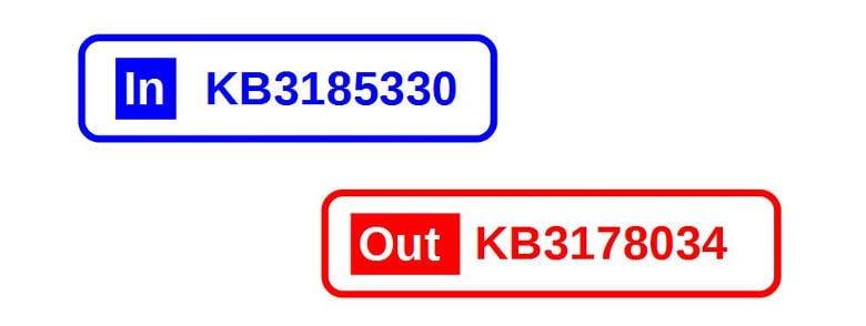 2016年10月windowsアップデートのKB3185330のテスト