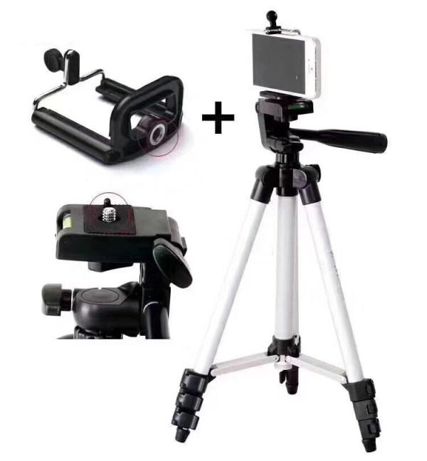 Stativ za foto-aparat i držač za telefon