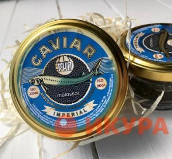 Zwarte kaviaar verwerken