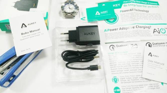 Unboxing Aukey Quick Charge 3 Tokopedia Indonesia