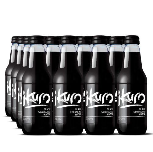 Black Sparkling Water 300mL (24 Pack)