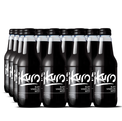 Black Sparkling Water 300mL (24 Pack)