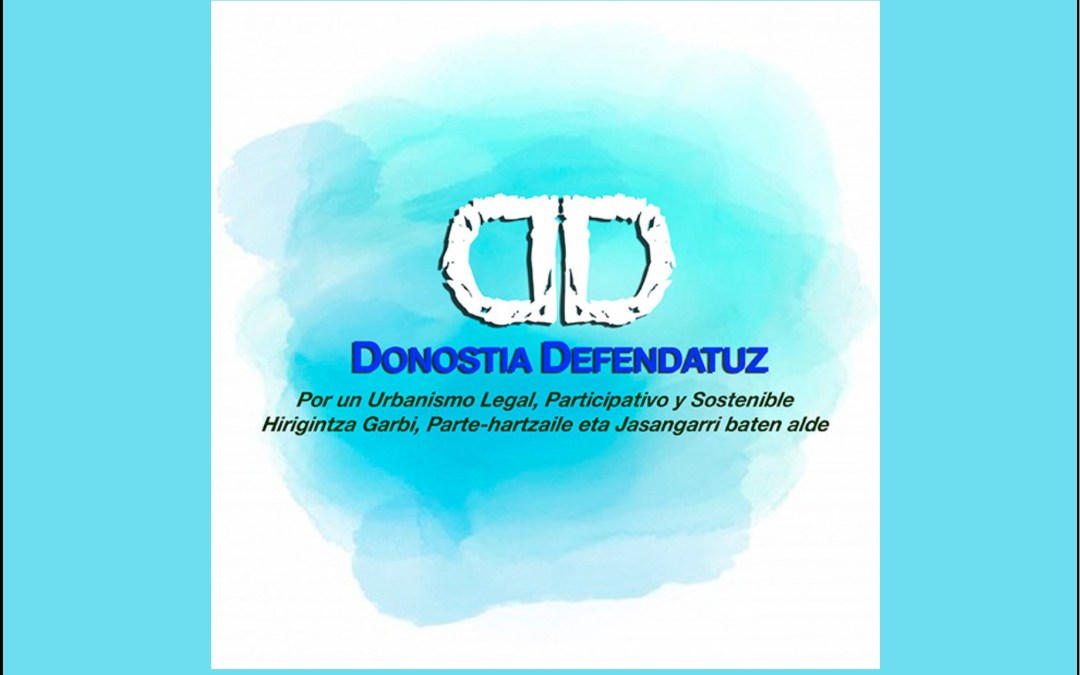 Presentan la coordinadora Donostia Defendatuz