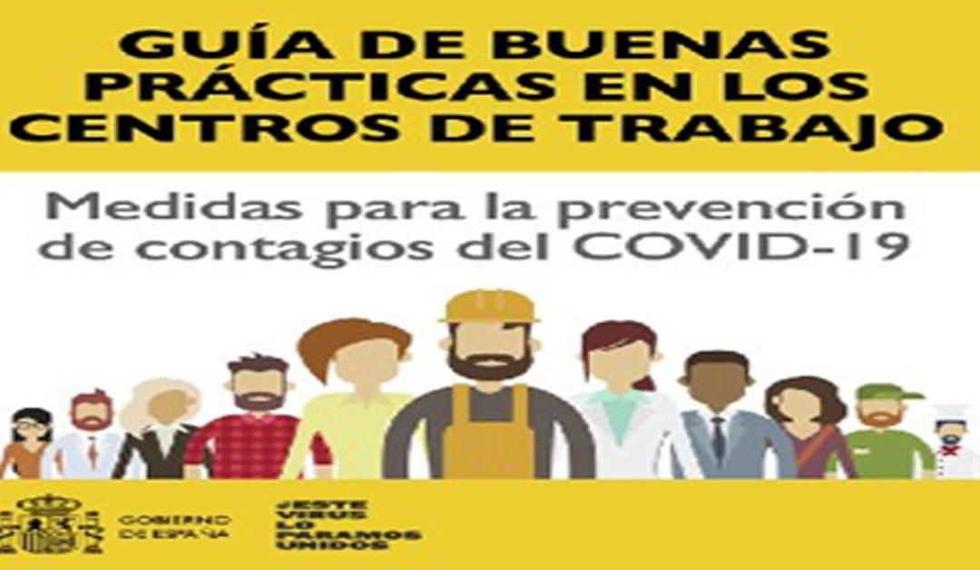 Guía del Gobierno Español para los centros de trabajo.