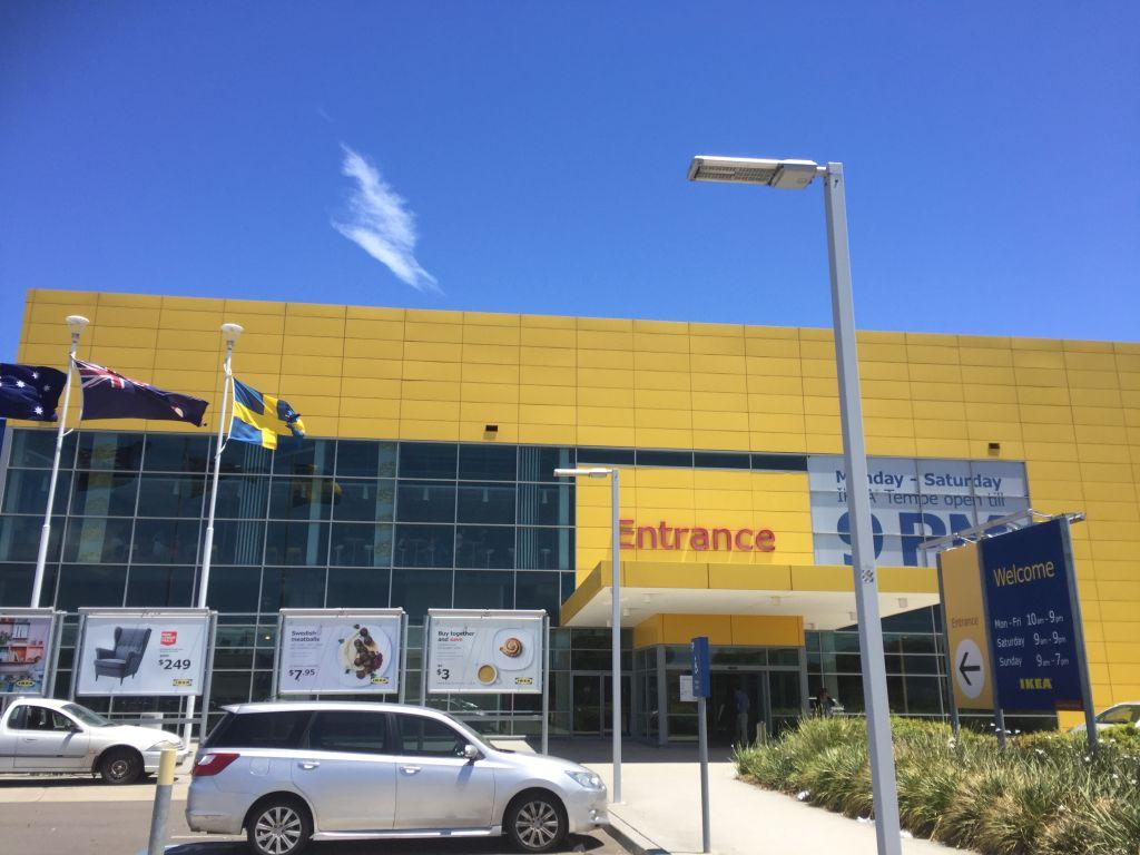 Entrance Ikea Sydney