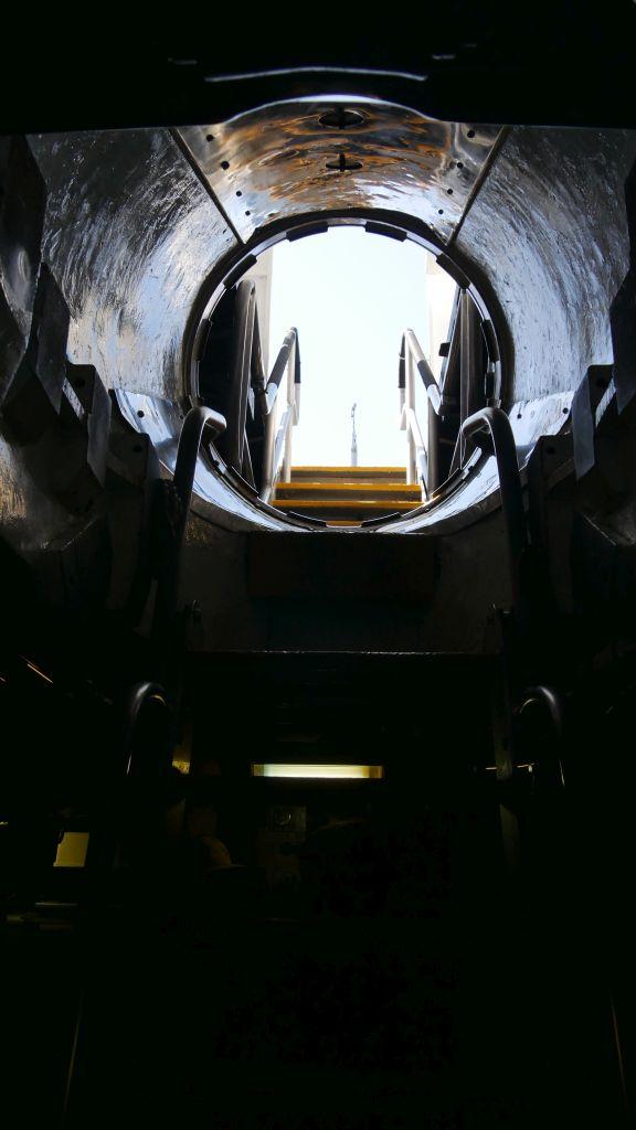 Ingang van de onderzeeboot