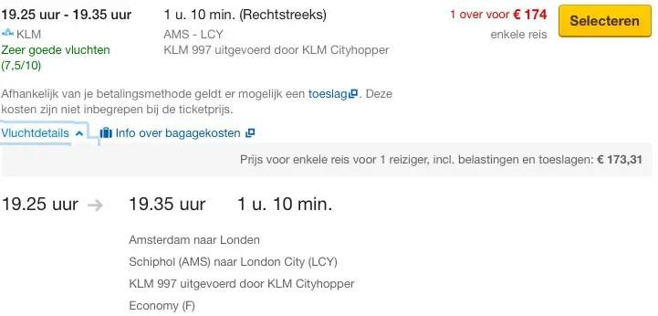 Amsterdam - London