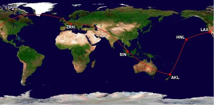De wereld rond met star alliance