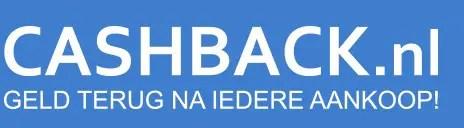 CashbackNL shopping portal geld besparen reizen
