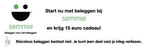 Semmie beleggen 15 euro cadeau vermogensbeheer