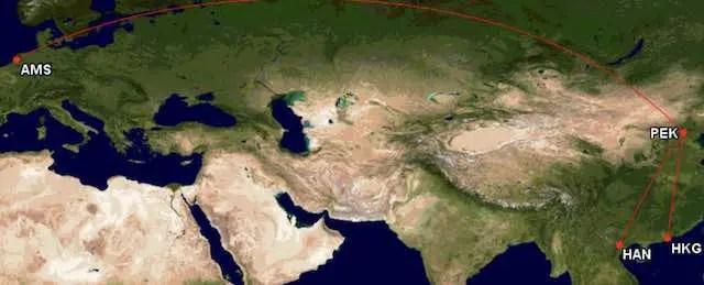 gratis vliegen miles punten airmiles besparen vliegticket