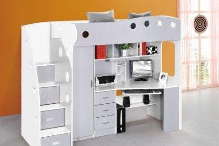 Awesome boekenkast met bureaublad contemporary ideeën voor thuis