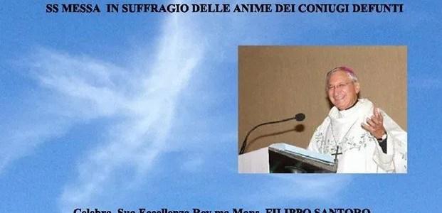 Il Melograno partecipa alla celebrazione in suffragio delle anime dei coniugi defunti a Taranto