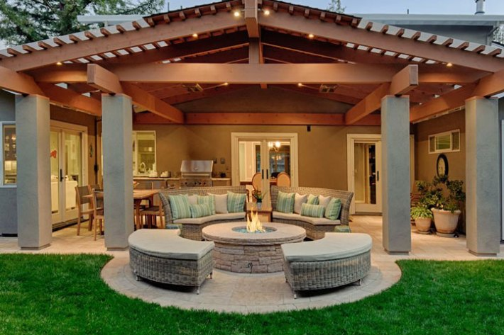 - Quiet Corner:Outdoor Fire Pit Seating Ideas - Quiet Corner