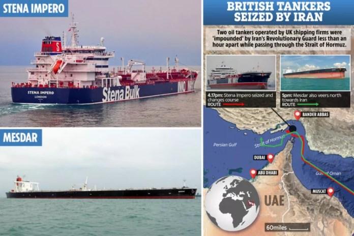 Iran's seizure of UK tanker in Gulf e1563610386222 இலகுவில் தீராது ஈரான் பிரச்சனை - வேல் தர்மா