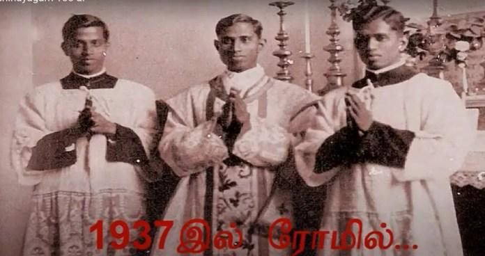 Thaninayagam 4 உலகத் தமிழராய்ச்சி மன்றம் அமைப்பதற்கு வழிகோலியவர் தனிநாயகம் அடிகளார் அவர்களே