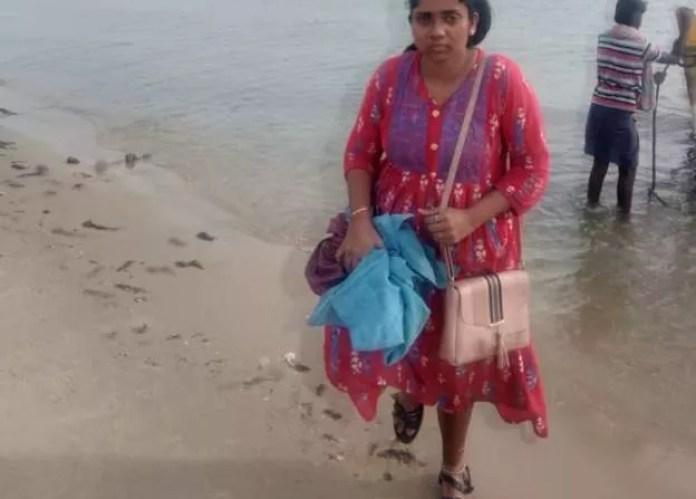 இலங்கைக்கு பெண் ஒருவரை அழைத்துச் செல்வதாகக் கூறி