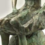 Resting Dancer Detail