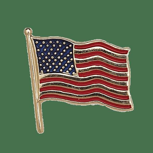 Custom Magnetic Lapel Pins American Flag Pins - iLapelPin.com Custom Lapel Pins Factory China 3