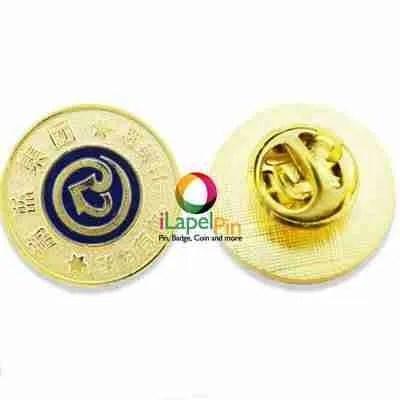 gold lapel pin shirt pins - iLapelpin.com 1