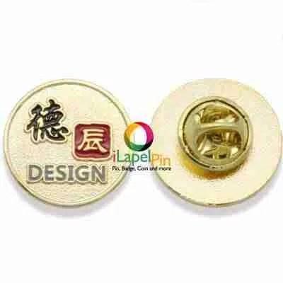 gold lapel pin shirt pins - iLapelpin.com 2