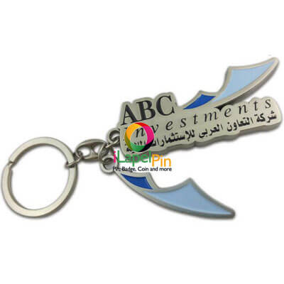 Custom Key Chains China Logo Keychains Factory - iLapelPin.com 2