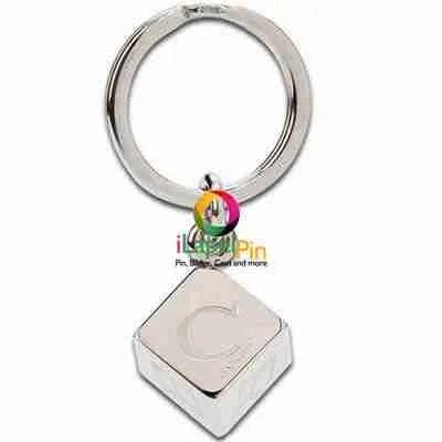 Monogram Keychain China Custom Keychains Factory - iLapelpin.com 1