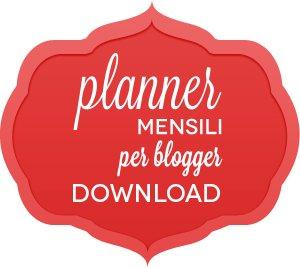 Scarica il planner mensile per blogger