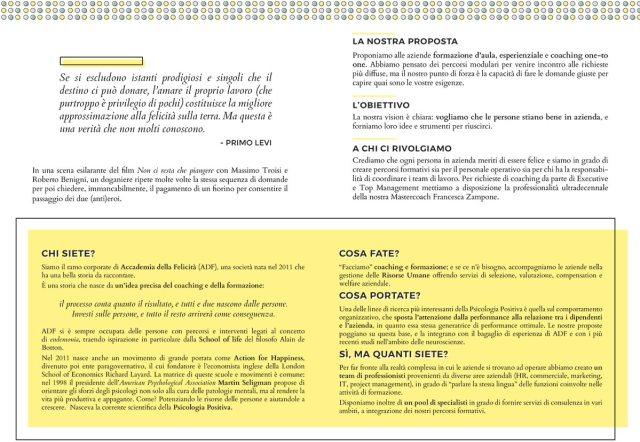 Brochure Accademia Business