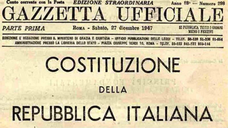 Cos'è la Costituzione Italiana e come il referendum vuole cambiarla?