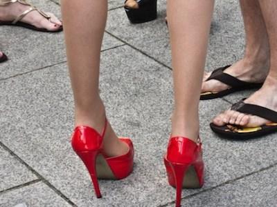 gendered feet