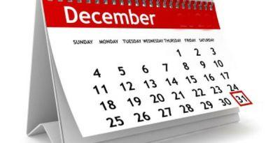 Feste di Natale e Ultimo dell'Anno