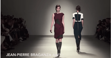 London Fashion Week: Jean Piere Braganza