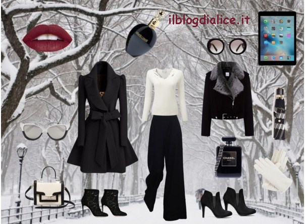 Outfit Black and White