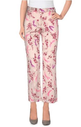 pantaloni rosa