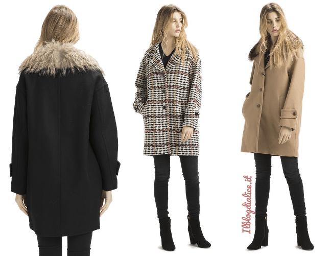 new york c3537 58fc4 Outfit con cappotto in panno Twin Set Simona Barbieri - Il ...