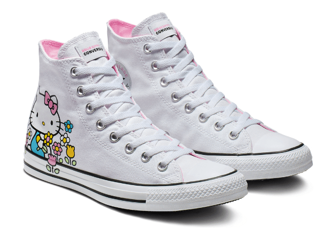 converse hello kitty sneaker bianche