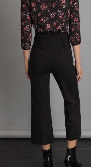 pantaloni rinascimento cropped