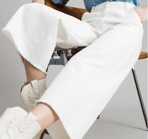 pantaloni cropped pants