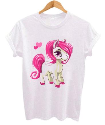 maglietta con unicorno