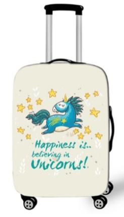 unicorno copri valigia