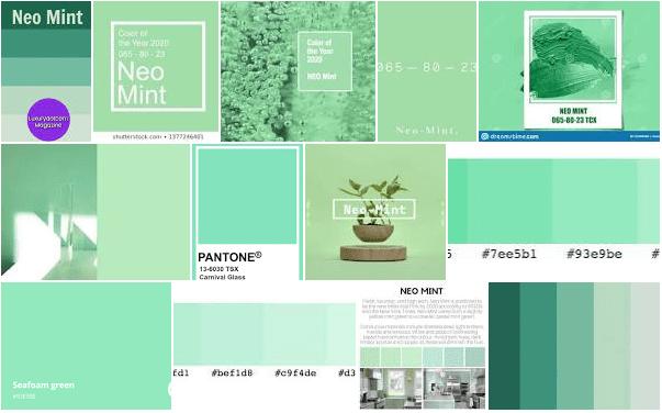 neo mint 2020 Verde salvia e neo mint sono i colori primavera 2020